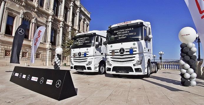Mercedes-Benz Türk'ten yılın en büyük kamyon teslimatı – ticarigazetesi